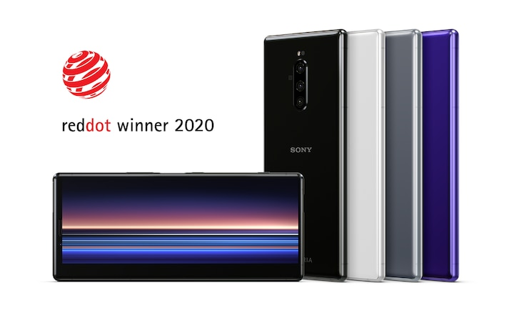 Xperia 1 zdobywcą nagrody w konkursie Red Dot Award: Product Design 2020