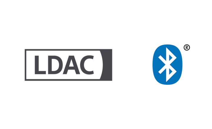 Logo LDAC i Bluetooth®