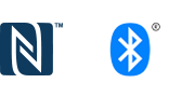 Logo Bluetooth® i NFC