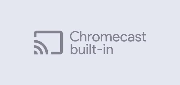 Wbudowany Chromecast