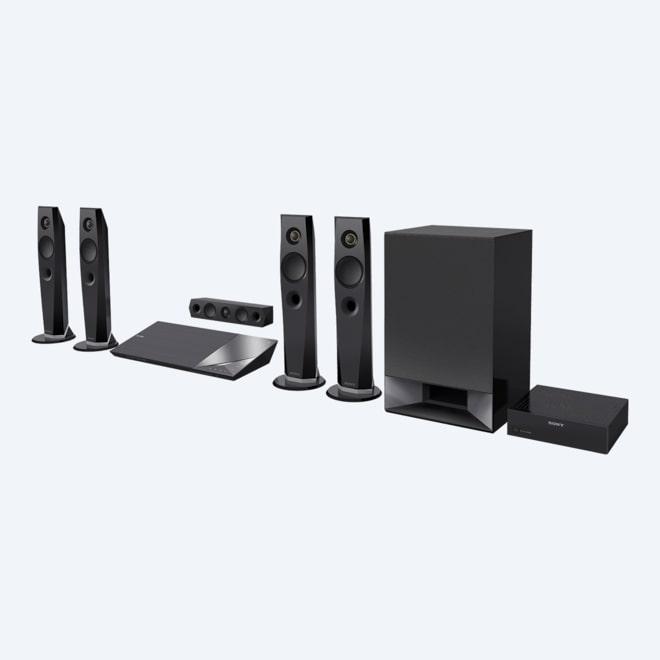 f9bec4e0346e Zestaw kina domowego z odtwarzaczem Blu-ray Disc™ i technologią Bluetooth®   obraz