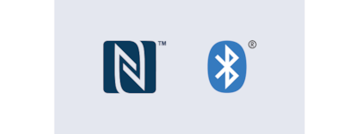 Logo NFC i Bluetooth®