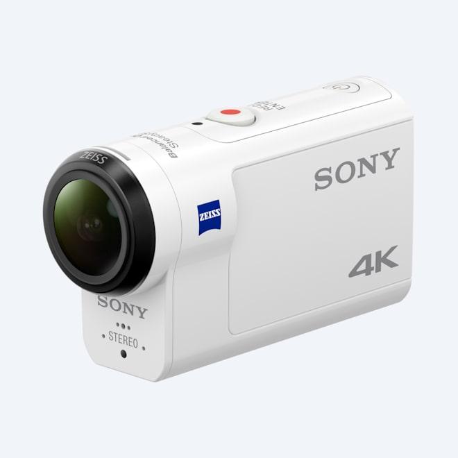 1fb94baab18424 FDR-X3000: kamera Action Cam 4K z Wi-Fi i odbiornikiem GPS: