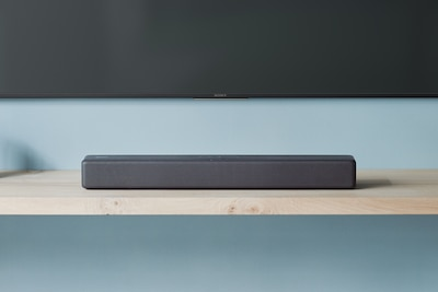 Soundbar BLUETOOTH firmy Sony na półce
