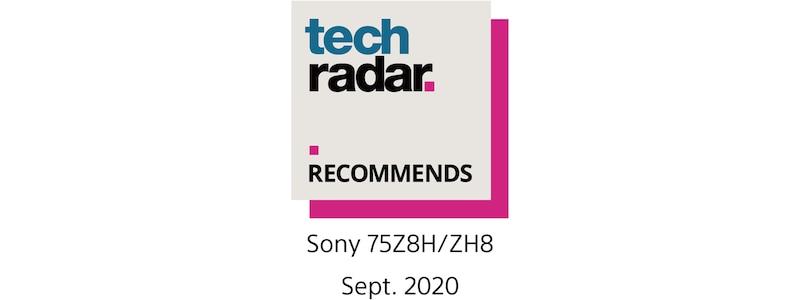 Logo rekomendacji TechRadar