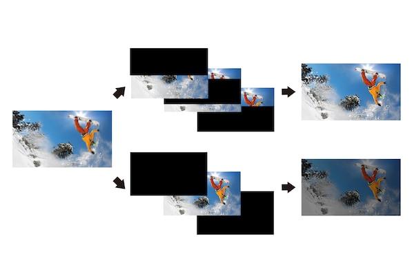 OLED - яркие и четкие сцены с быстро меняющейся картинкой