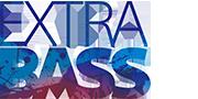 Kolorowe logo EXTRA BASS