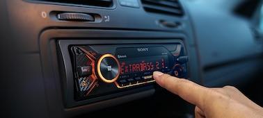 Radio samochodowe z technologią BLUETOOTH®: obraz