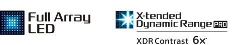 Logo Full Array LED i X-tended Dynamic Range