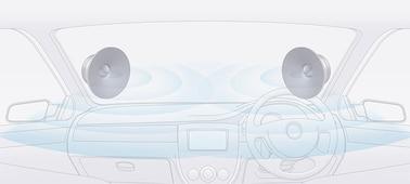 """Jednostka sygnałowa Bluetooth® 6,2"""" (15,7 cm) z WebLink™ Cast: obraz"""